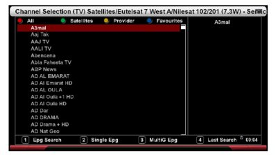 Disable EPG Buttons in Channel List | VuPlus Community
